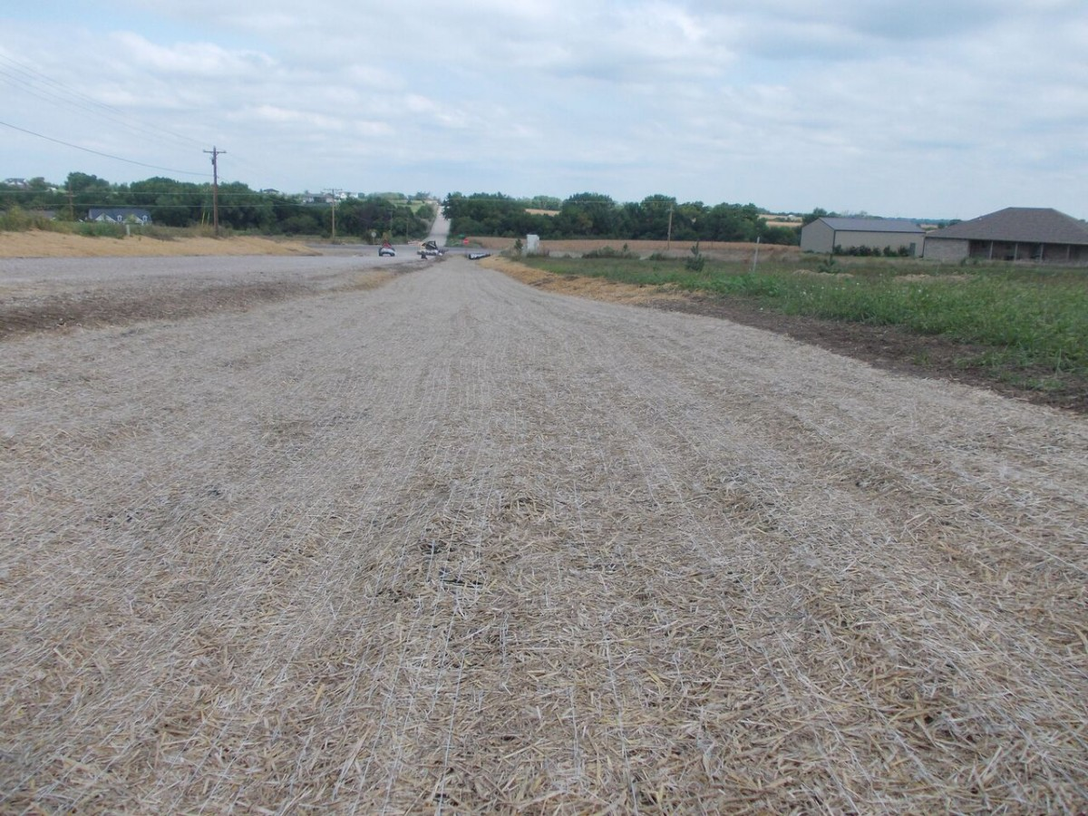 Degradable Erosion Control Blankets Miller Seed Company
